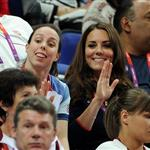 Kate watches Gymnastics at North Greenwich Arena 122598