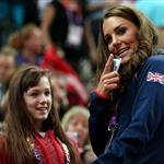 Kate watches Gymnastics at North Greenwich Arena 122599