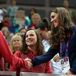 Kate watches Gymnastics at North Greenwich Arena 122600