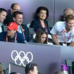 Will, Harry, and Kate at Olympic Stadium 122604