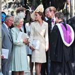 Prince William and Catherine with Prince Harry at Zara Phillips wedding 90985
