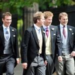 Hot Harry and Prince William with Kate Middleton at a London wedding on a Friday 44835