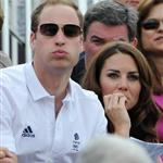 Prince William, Duke of Cambridge, Catherine, Duchess of Cambridge and Prince Harry watch the Show Jumping Equestrian event on Day 4 of the London 2012 Olympic Games 122079