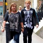 Rupert Grint outside his hotel in London 87653