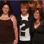 Rupert Grint promotes Cherrybomb DVD launch as Deathly Hallows 1 test screens in Chicago 67485
