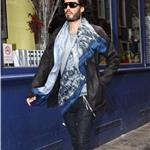 Russell Brand leaves the Soho Clinic, London 101615