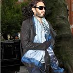 Russell Brand leaves the Soho Clinic, London 101618