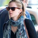 Emma Watson arriving to catch a flight at JFK airport in NYC 117764