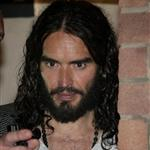 Russell Brand leaves a warm-up gig at The Playhouse 125080