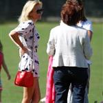 Geri Halliwell visits a north London Park with her daughter 125085