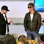 Ryan Phillippe Matthew McConaughey in Paris for The Lincoln Lawyer  82566