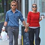 Ryan Gosling and Eva Mendes hold hands on a romantic walk in NYC 114207