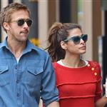 Ryan Gosling and Eva Mendes hold hands on a romantic walk in NYC 114210