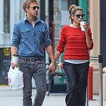Ryan Gosling and Eva Mendes hold hands on a romantic walk in NYC 114211