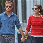 Ryan Gosling and Eva Mendes hold hands on a romantic walk in NYC 114214