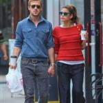 Ryan Gosling and Eva Mendes hold hands on a romantic walk in NYC 114220