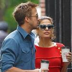 Ryan Gosling and Eva Mendes hold hands on a romantic walk in NYC 114226