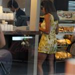Eva Mendes on the coffee run for Ryan Gosling in Thailand  109893