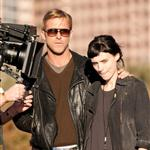 Ryan Gosling on set of Lawless with Rooney Mara 97866