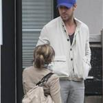 Ryan Gosling waits outside his mother's house in Toronto before Mother's Day 84963