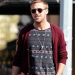 Ryan Gosling goes for lunch with a friend in New York City 110973