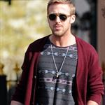 Ryan Gosling goes for lunch with a friend in New York City 110976