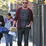 Ryan Gosling goes for lunch with a friend in New York City 110984