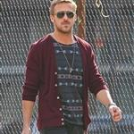 Ryan Gosling goes for lunch with a friend in New York City 110989