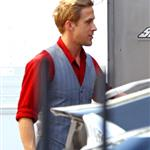 Ryan Gosling on the set of Gangster Squad 94233