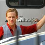 Ryan Gosling on the set of Gangster Squad 94237