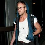 Ryan Gosling arrives at LAX 111312