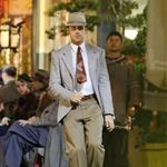 Ryan Gosling on the set of Gangster Squad  124411