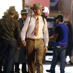 Ryan Gosling on the set of Gangster Squad  124415
