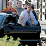 Ryan Gosling on the set of Drive  72002