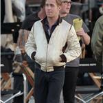 Ryan Gosling on the set of Drive  72005