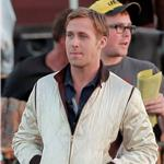 Ryan Gosling on the set of Drive  72006