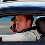 Ryan Gosling on the set of Drive  72012