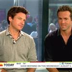 Jason Bateman and Ryan Reynolds on The Today Show promoting The Change-Up 91285