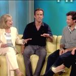 Jason Bateman and Ryan Reynolds on The View promoting The Change-Up 91289