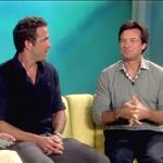 Jason Bateman and Ryan Reynolds on The View promoting The Change-Up 91290