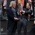 Jeff Bridges and Ryan Reynolds shoot RIPD in Boston  95414
