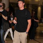 Ryan Lochte arrives at LAX 123373