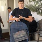 Ryan Lochte goes shopping at Ralph Lauren on Rodeo Drive in Beverly Hills 123604