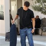 Ryan Lochte goes shopping at Ralph Lauren on Rodeo Drive in Beverly Hills 123605
