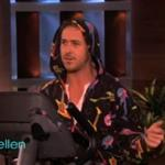 Ryan Gosling in a onesie on Ellen 76350