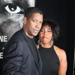 Denzel Washington and wife Pauletta Washington at the New York premiere of Safe House 105151