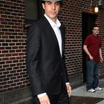Sacha Baron Cohen at The Late Show with David Letterman 114911