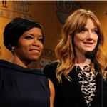 Regina King and Judy Greer at the 18th Annual Screen Actors Guild Award Nominations 100563