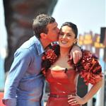 Salma Hayek and Antonio Banderas in Cannes for Puss in Boots 85076
