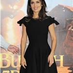 Salma Hayek at photo call for Puss in Boots  in Poland 95139
